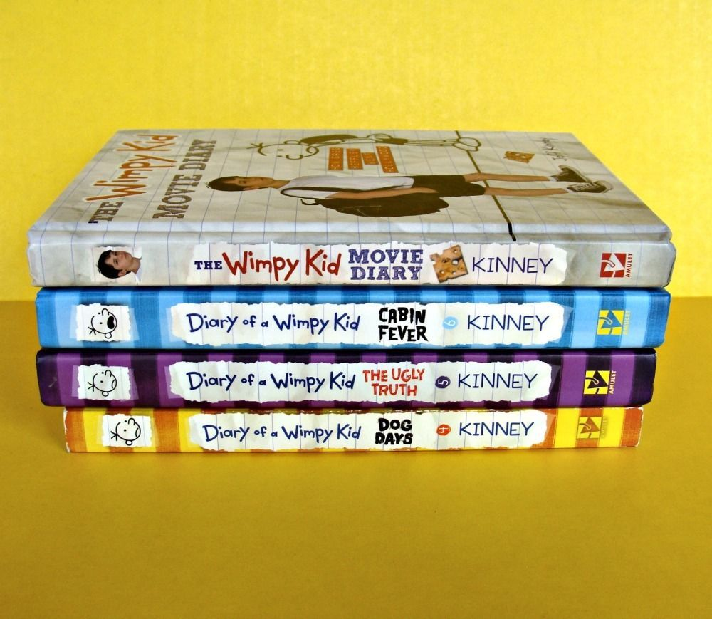Lot diary of a wimpy kid books cabin fever movie diary ugly truth lot diary of a wimpy kid books cabin fever movie diary ugly truth dog days set solutioingenieria Images