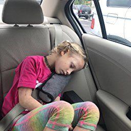 Seatbelt PillowCar Seat Belt Covers For KidsAdjust Vehicle Shoulder PadsSafety Protector CushionPlush Soft Auto Strap Cover Headrest Neck