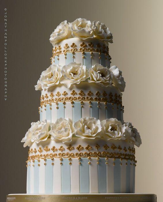 Beautiful Done Wedding Cake By Peggy Porschen Photo Jonathan Pollock