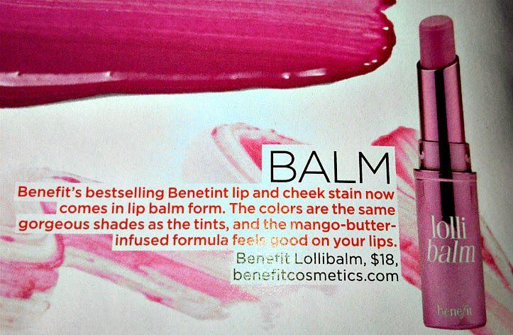 New Benefit Balms or Benebalms