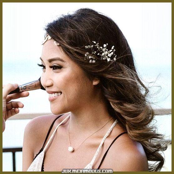 Elegante Natürliches Hochzeits-Schminke zu Gunsten von braune Augen von Glory Munoz, Maskenbi…