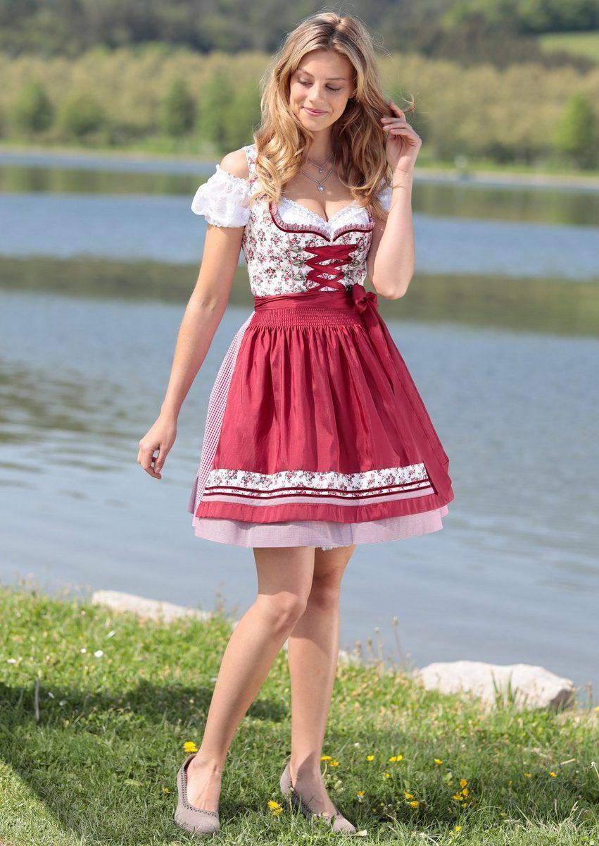 Turi Landhaus Donna DIRNDL TRACHTEN OKTOBERFEST vestito Oktoberfest