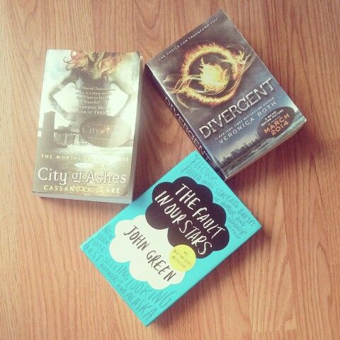 Some of my FAVORITE BOOKS!! The Mortal Instruments By: Cassandra Clare is a wonderful series you should also read The Infernal Devices Series also by Cassandra Clare Divergent Trilogy By: Veronica Roth is a fantastic trilogy full of action The Fault in Our Stars (tfios) By: John Green is a touching book!