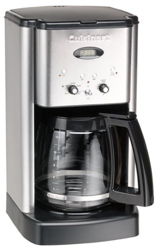 Cuisinart Brew Central 12 Cup Coffeemaker Brushed Stainless Steel Renewed Sale Coffee Accessories Shop Buymorecoffee Com Coffee Maker Coffee Maker Cleaning Cuisinart Coffee Maker
