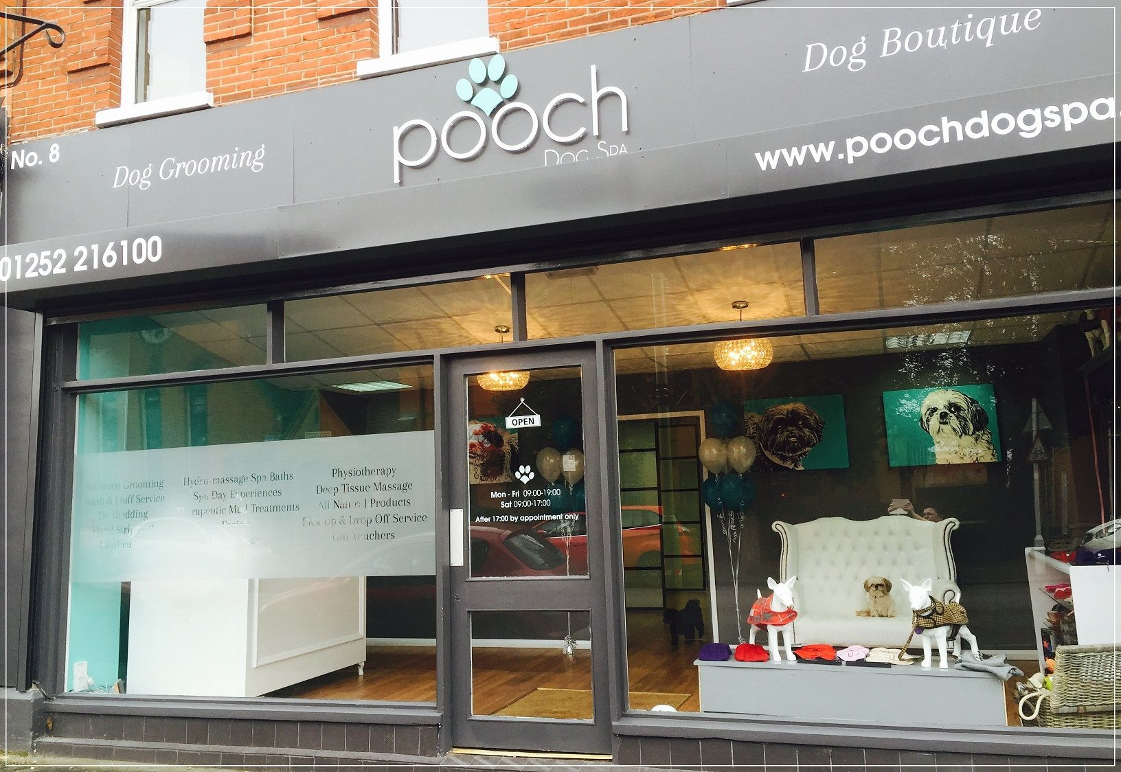 Salon Exterior At Poochdogspa Dog Spa Luxury Dog Kennels Pet Hotel