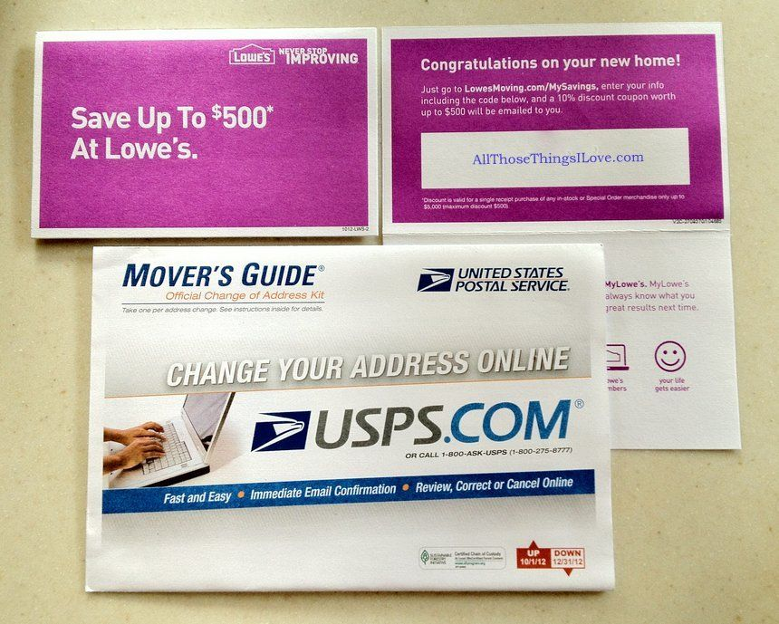 Lowe S Change To Usps Movers Guide 10 Coupon How To Save Up To An Additional 7 Printable Coupons Coupons Free Printable Coupons
