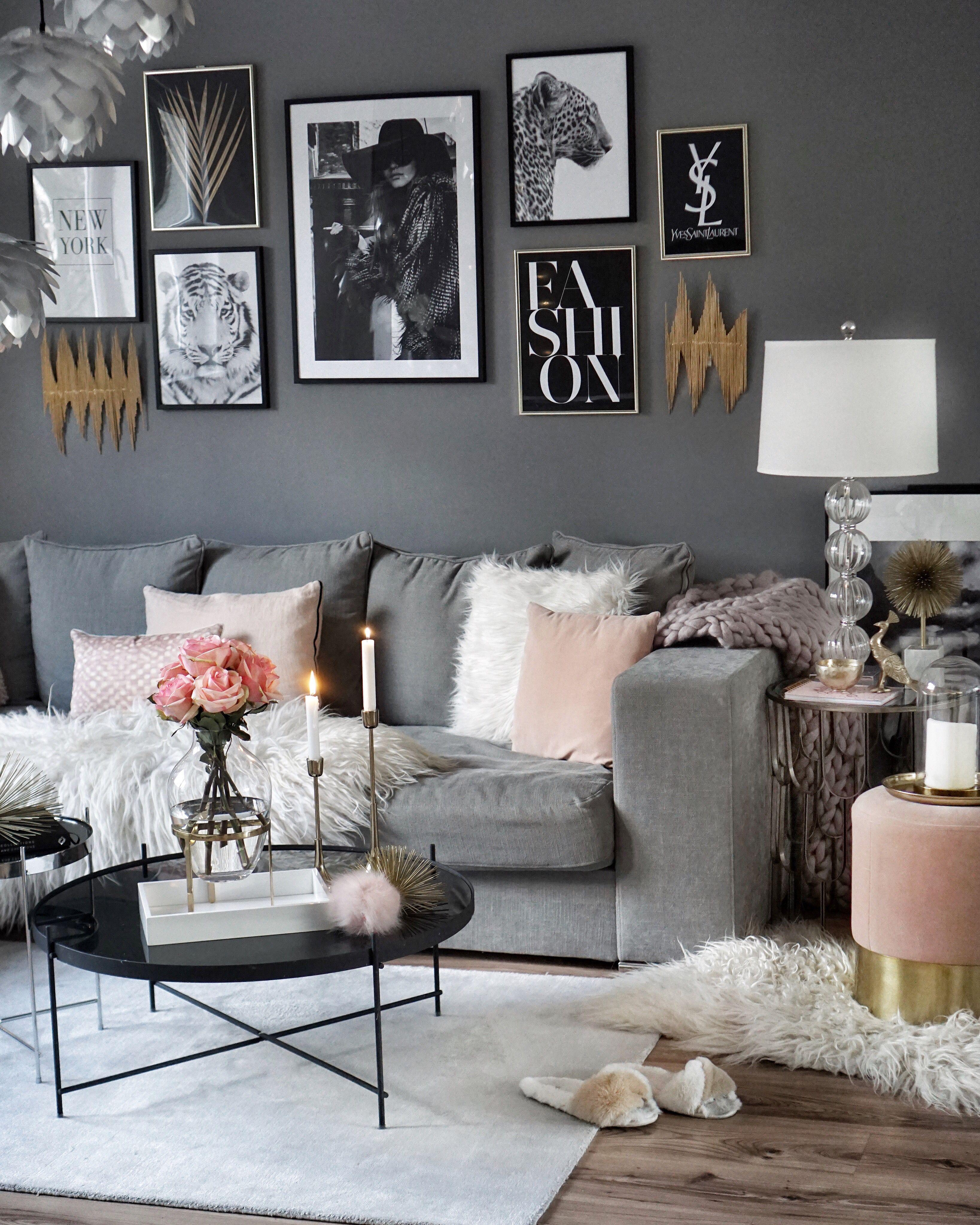 Wohnzimmer Wohnung Einrichtung Einrichtungsideen Einfach