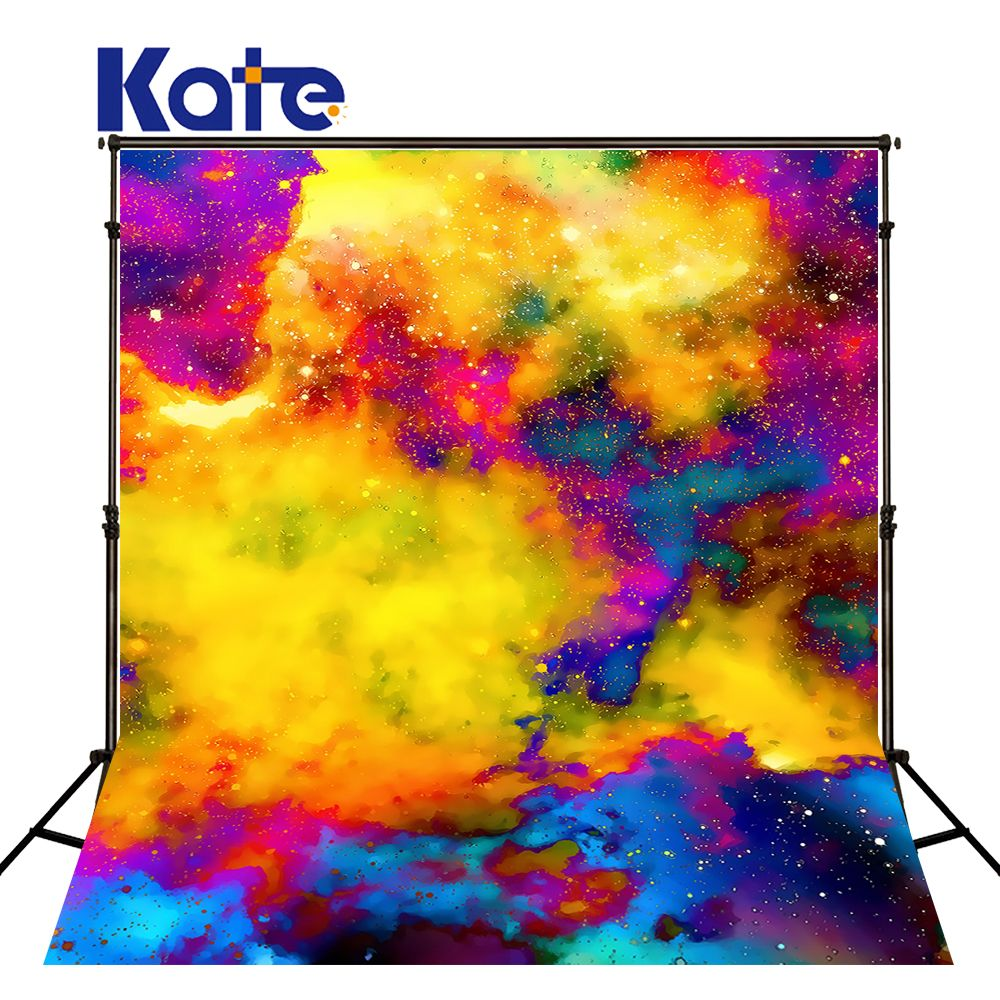 Zhy Abstract Oil Painting Backdrop 5x7ft Colorful Graffiti Retro Painting Background for Photographers Portrait Artistic Wedding Photo Backdrop Baby Shower Kids Shooting Booth