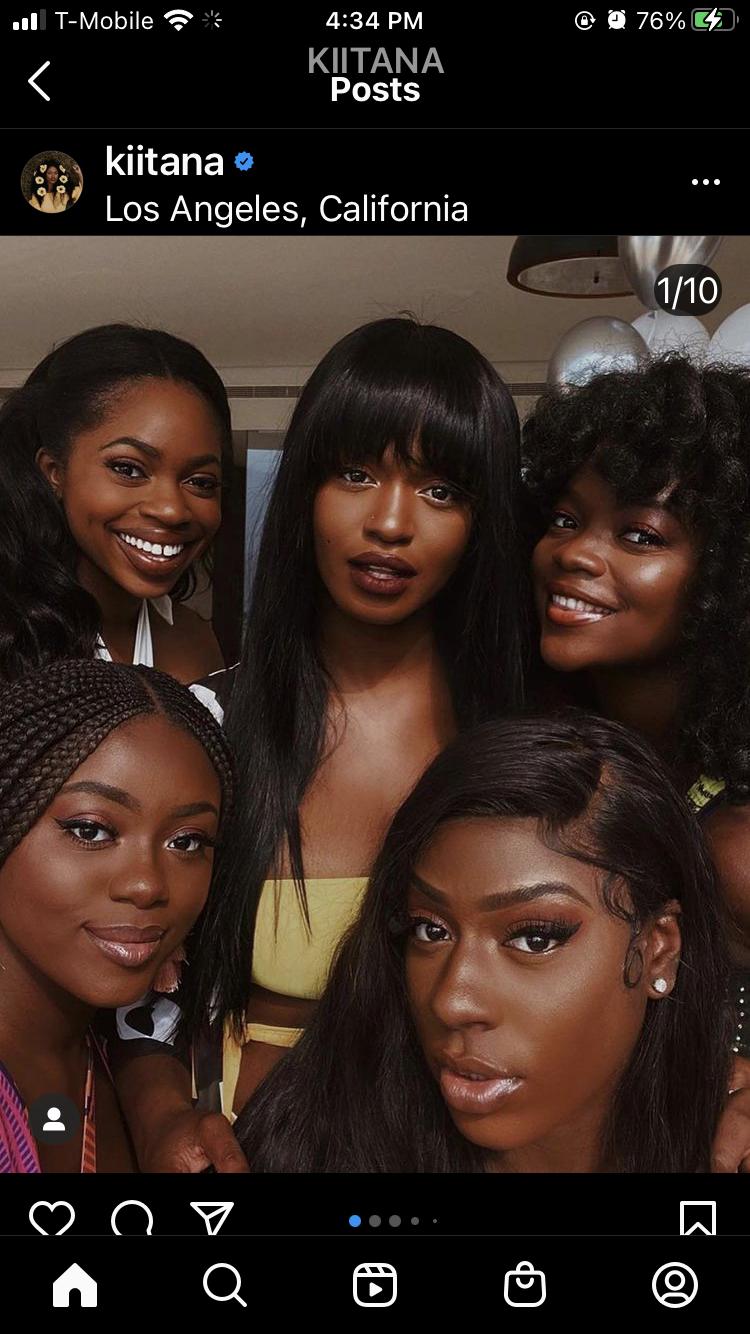 Pin By Diamond Sharp On If Only In 2021 Brown Skin Girls Glowing Dark Skin Melanin Beauty