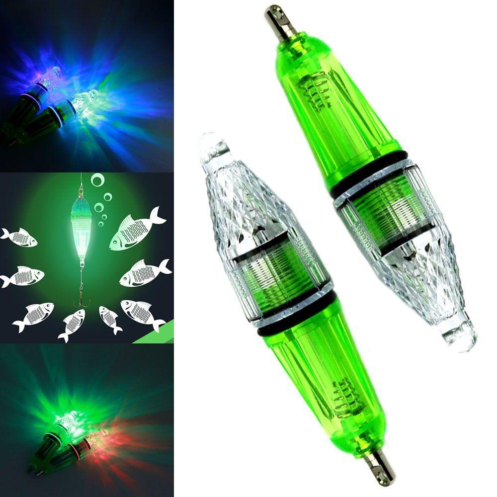 Luminous Fishing Lights Night Fluorescent Glow In The Dark LED Underwater Light Lure Fish Bait Mini light