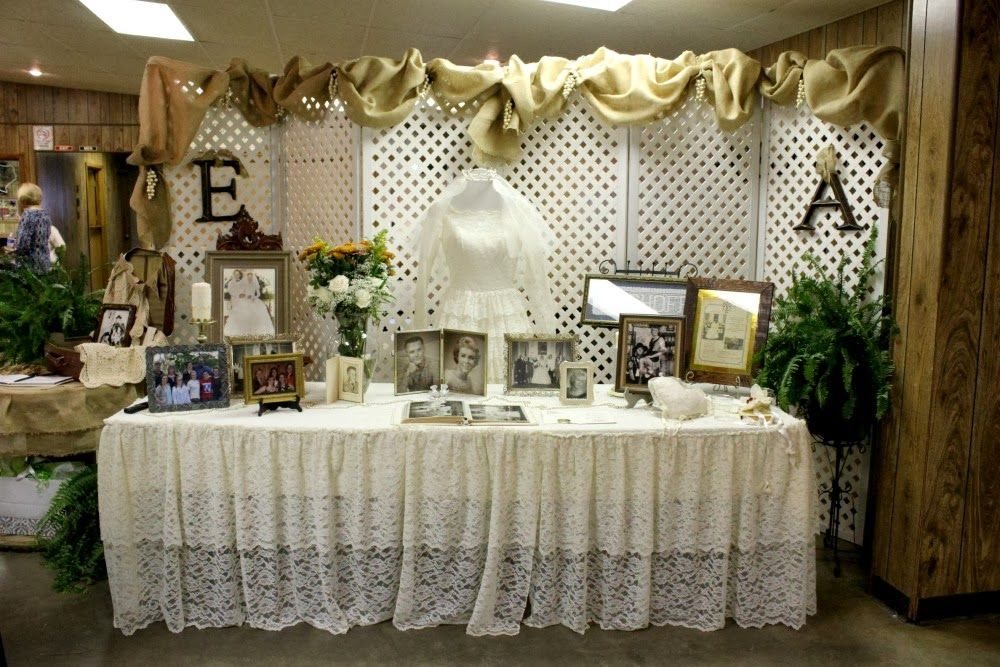 A Few Weeks Ago We Attended The 50th Wedding Anniversary Part 50th Wedding Anniversary Decorations Wedding Anniversary Decorations Fiftieth Wedding Anniversary