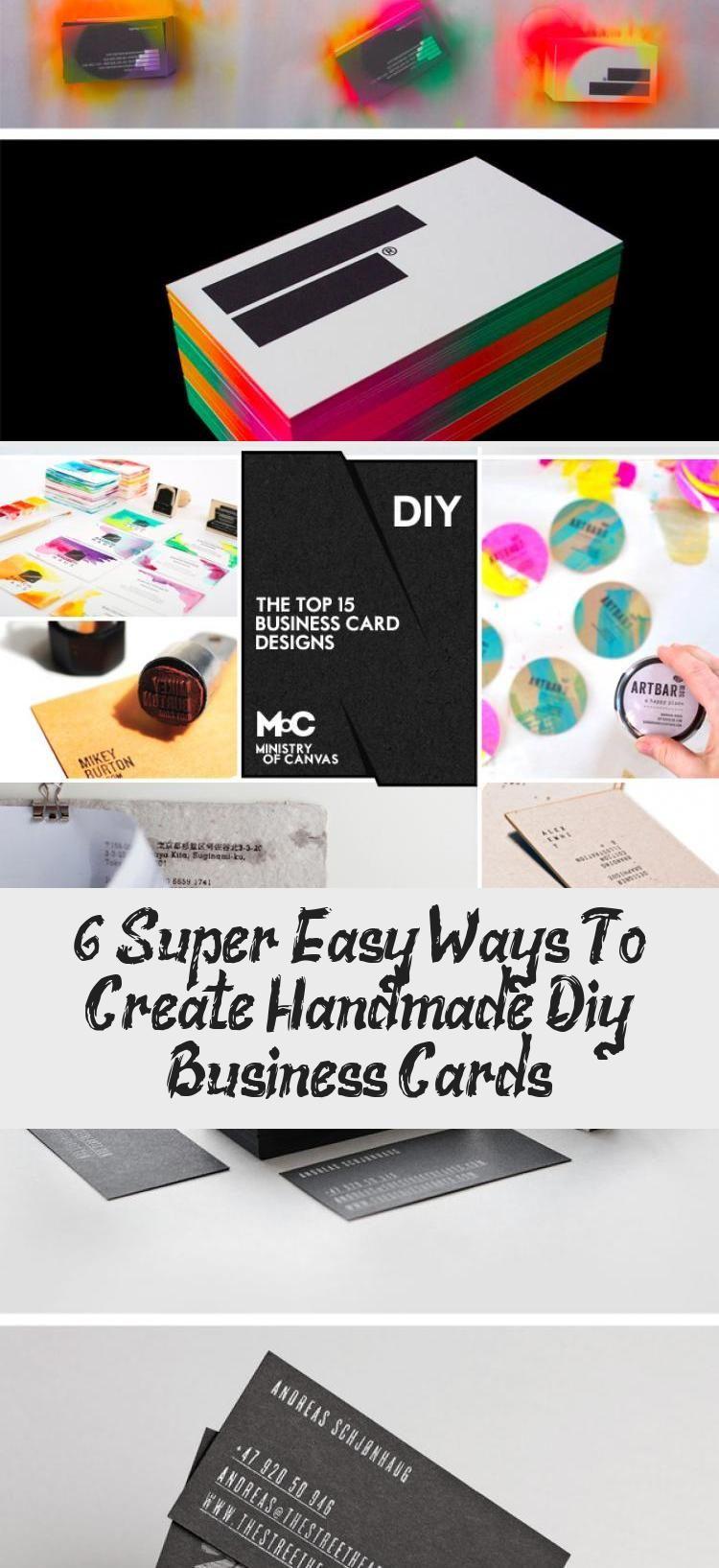 En Blog En Blog Custom Shaped Business Cards Diy Business Cards Handmade Business Cards