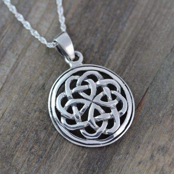 Sterling silver celtic pendants celtic jewelry celtic knot sterling silver celtic pendants celtic jewelry celtic knot friendship necklace mens leather sterling silver chains irish jewelry 065 aloadofball Images