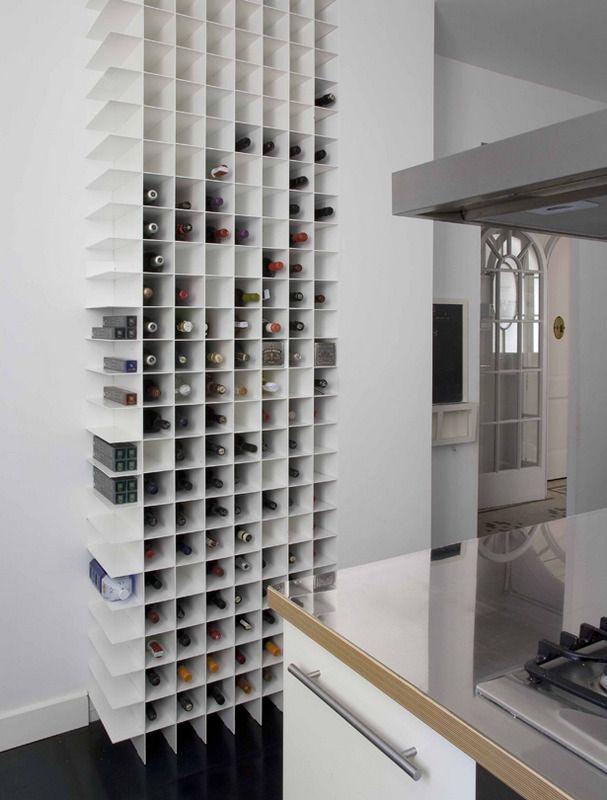 botellero de cocina en casa barcelonesa | Bar | Pinterest ...