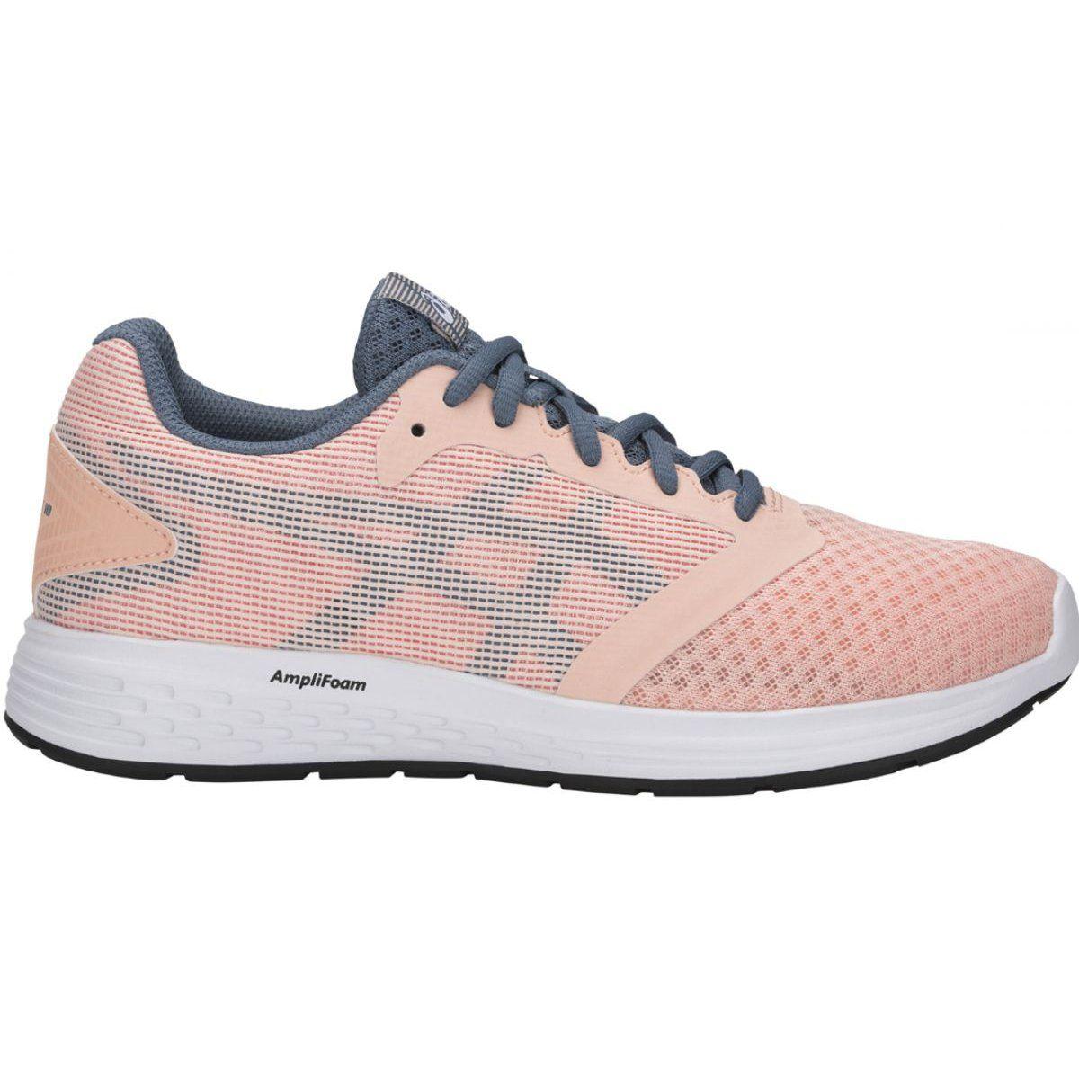 Buty Do Biegania Asics Patriot 10 Jr 1014a025 700 Rozowe Wielokolorowe Girls Running Shoes Pink Running Shoes Kids Running Shoes