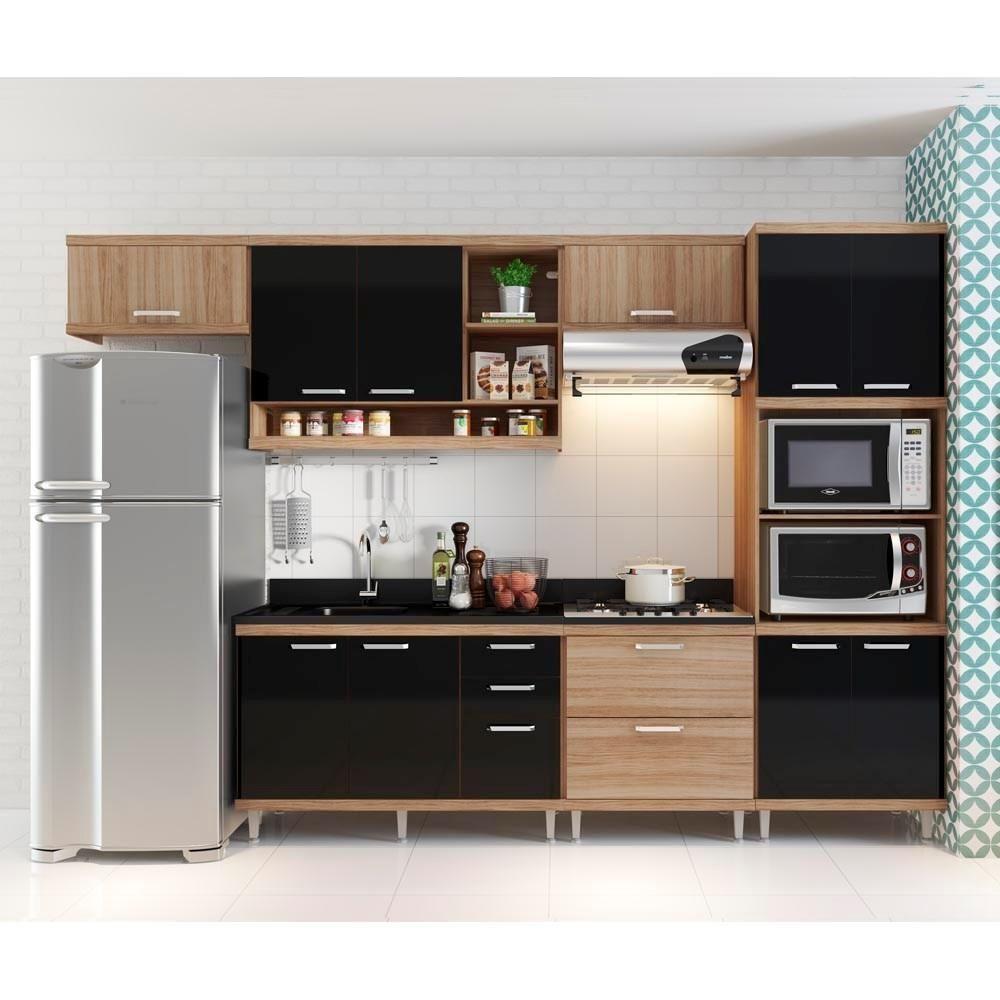 Cozinha Compacta A Reos Arm Rio Para Forno Micro Ondas E Balc Es