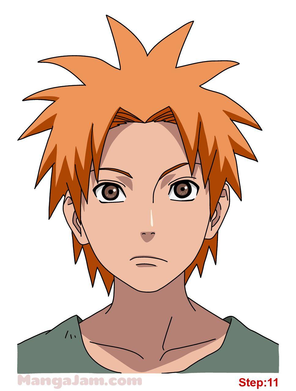 How Draw Yahiko Naruto 10 Drawings Naruto Drawings Naruto