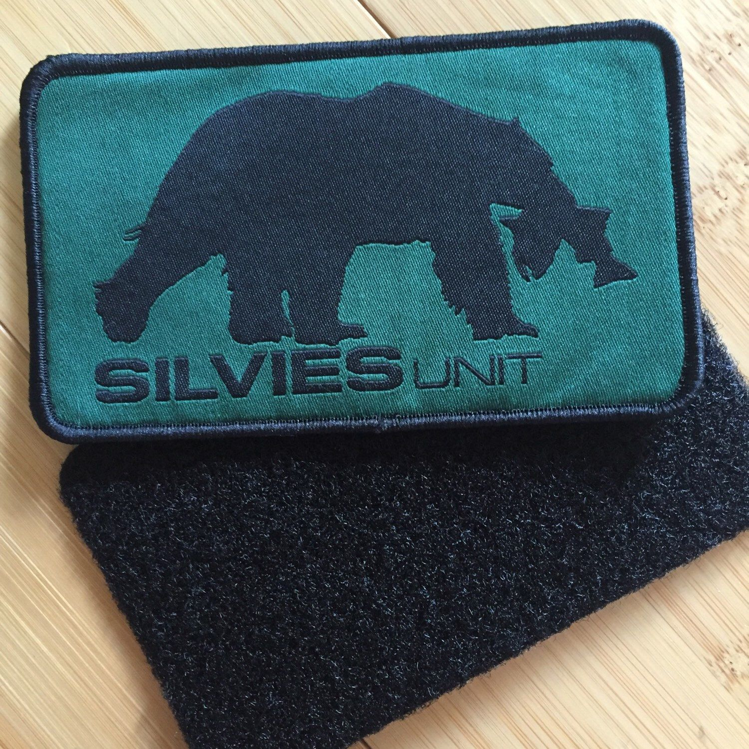 Our new Velcro backed patches!!!