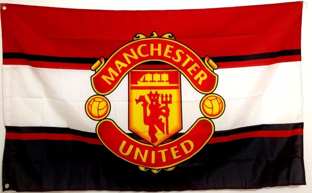 Manchester United Flag Banner 3 X 5 Ft Red Devils England Football Soccer Manchester United Premier Football England Football