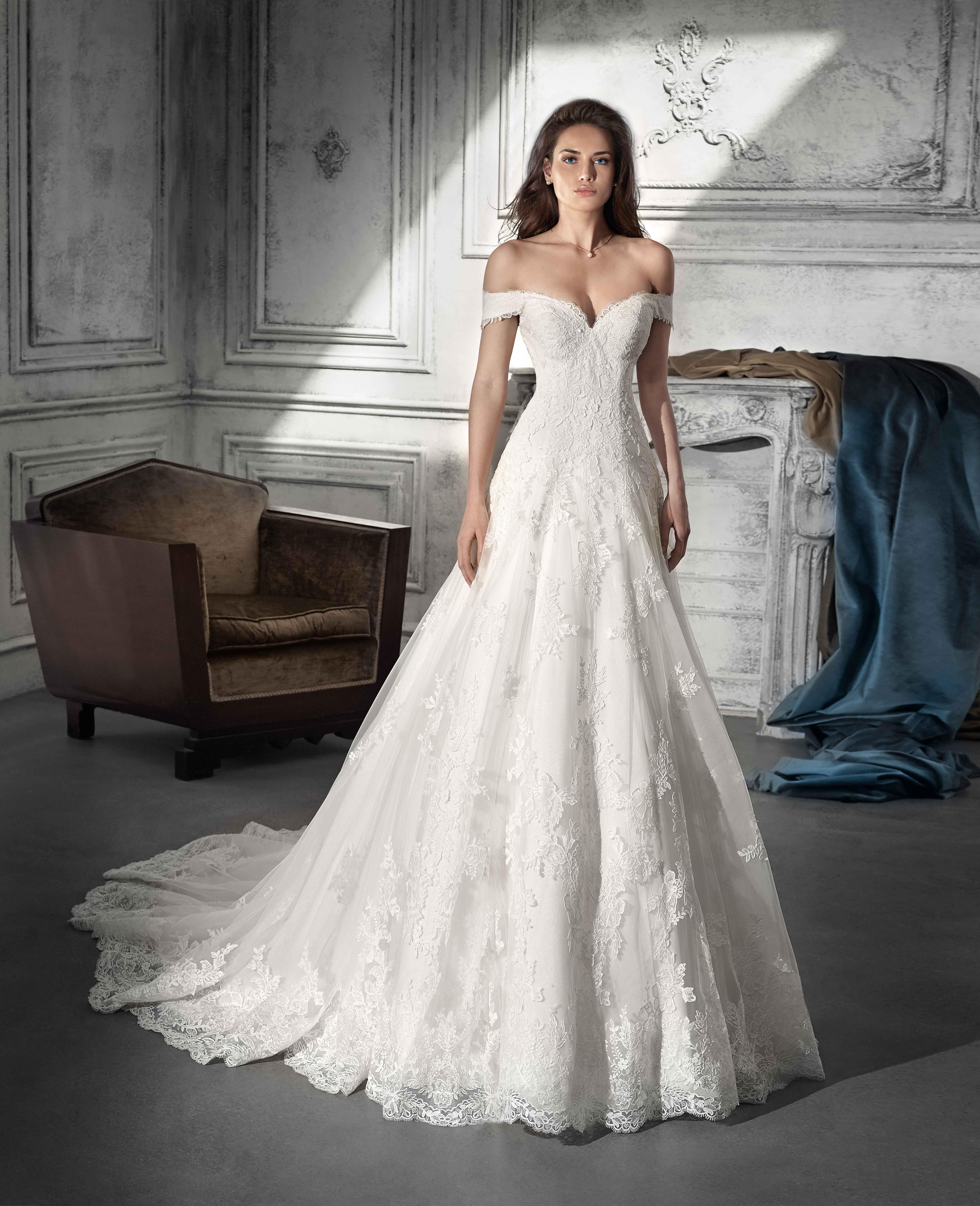 Vestido de Novia de Demetrios Wedding Dress   bodas   Pinterest ...