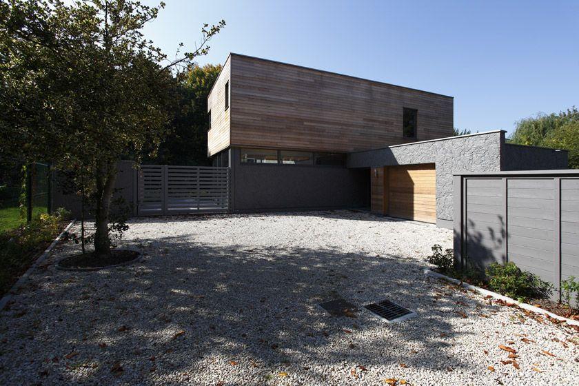 Maison à Wasquehal - APLA architecture - Laure Pettier - Accès à la