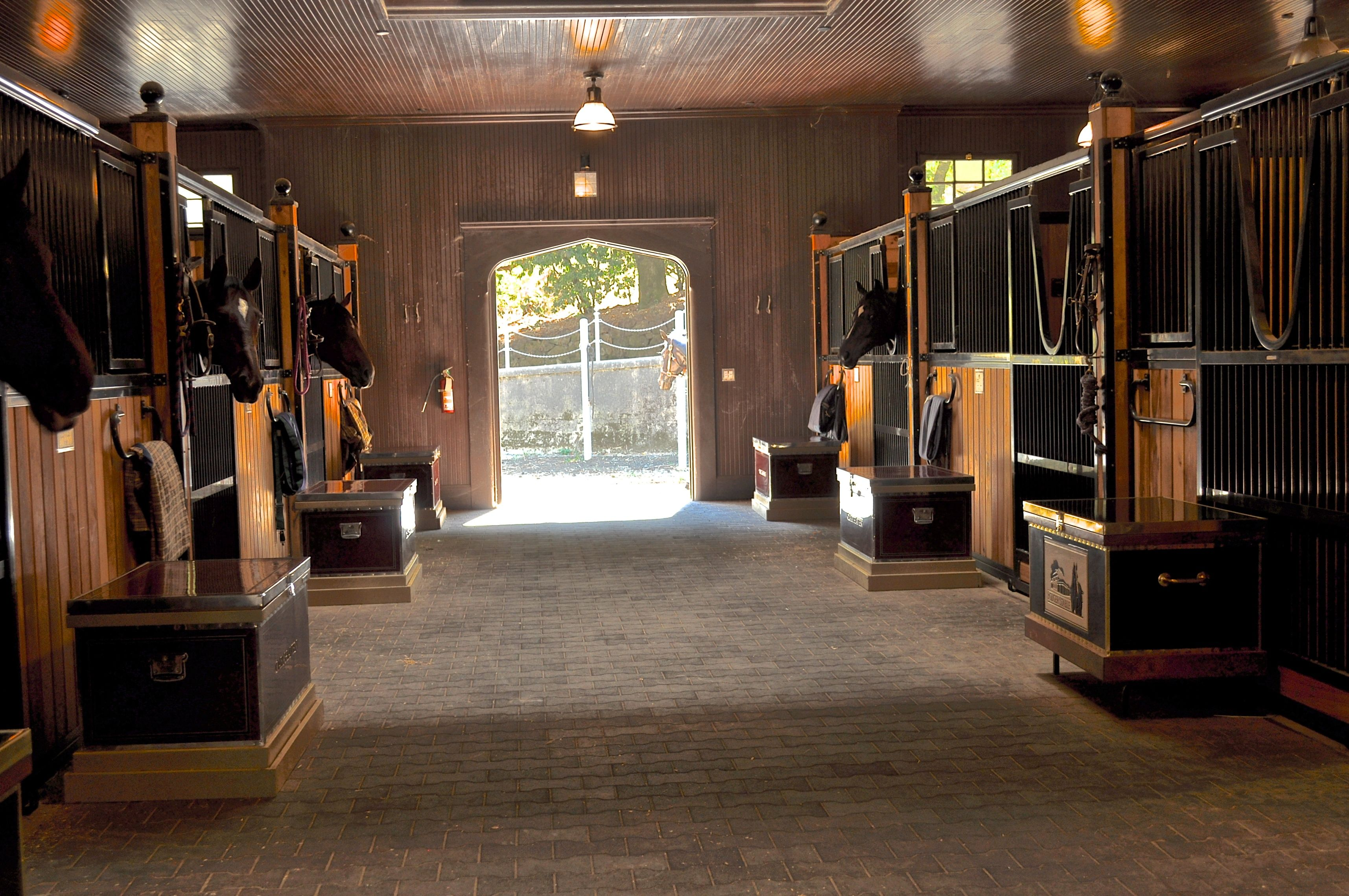 Barn Renovations After An Extensive Renovation At The Folgers Estate Stable In