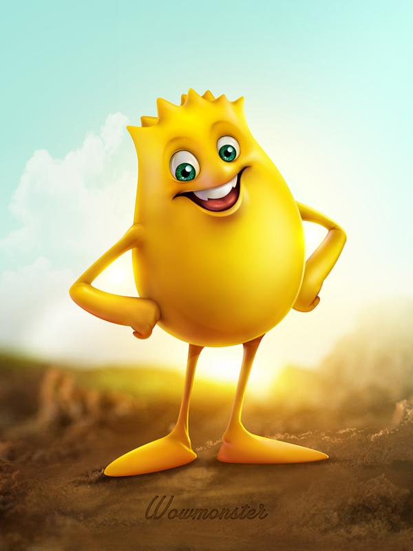 Mascot Design By Seerow Com Via Behance Mascot Design Cartoon Logo Mascot