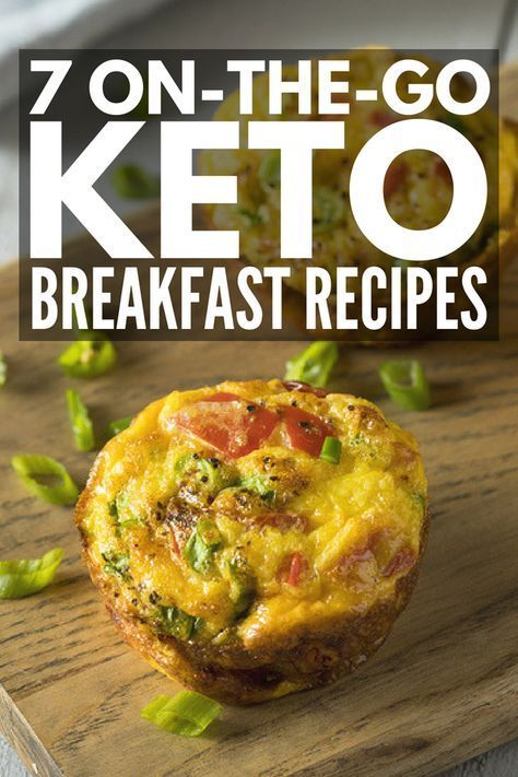 Keto Made Simple: 7 On-the-Go Keto Breakfast Recipes for Weight Loss images