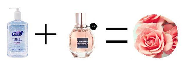 Scented Sanitizer Scented Hand Sanitizer Diy Scent Diy Perfume