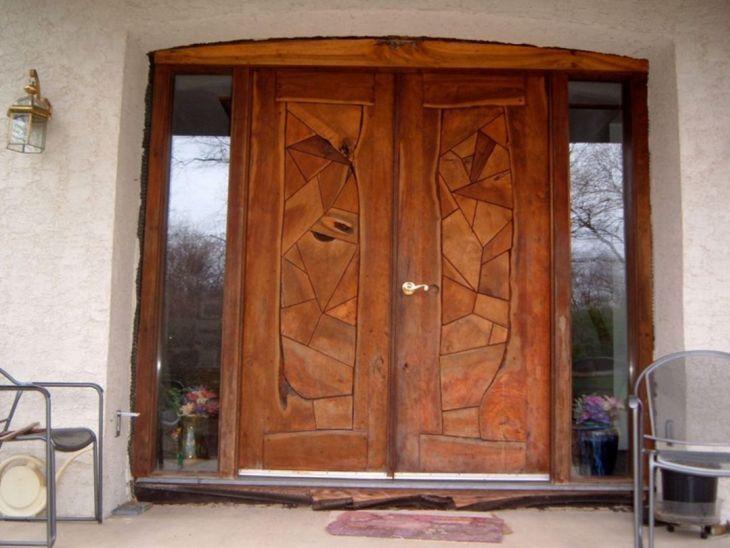 25 spektakuläre Holz-Haustür-Designs für Ihre Inspiration zu Hause #victorianfrontdoors