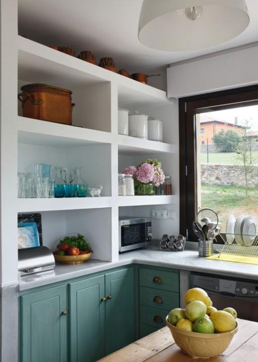 Casa y Campo - Cocinas bien distribuidas | Konyhák | Pinterest ...