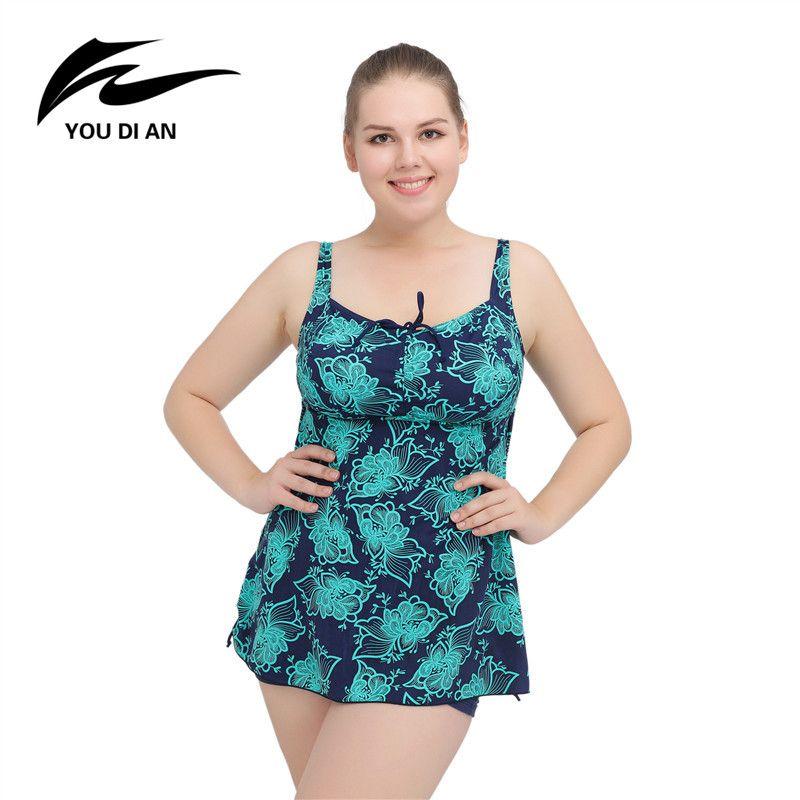2017 Summer Womens Beach Dress New Ladies Bathing Suit Plus Size