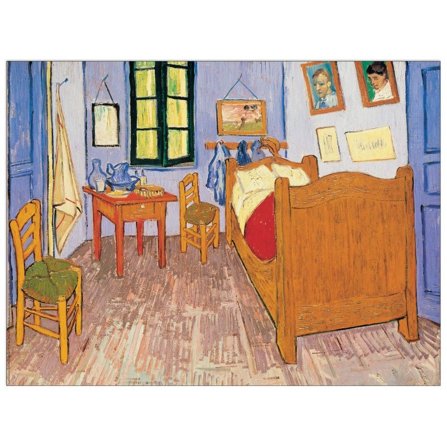 Van Gogh La Stanza 1888 80x60 Cm Artprints Interior Design Art Print Iloveart Followart Artist Fine Dipingere Idee Vincent Van Gogh Van Gogh Museum