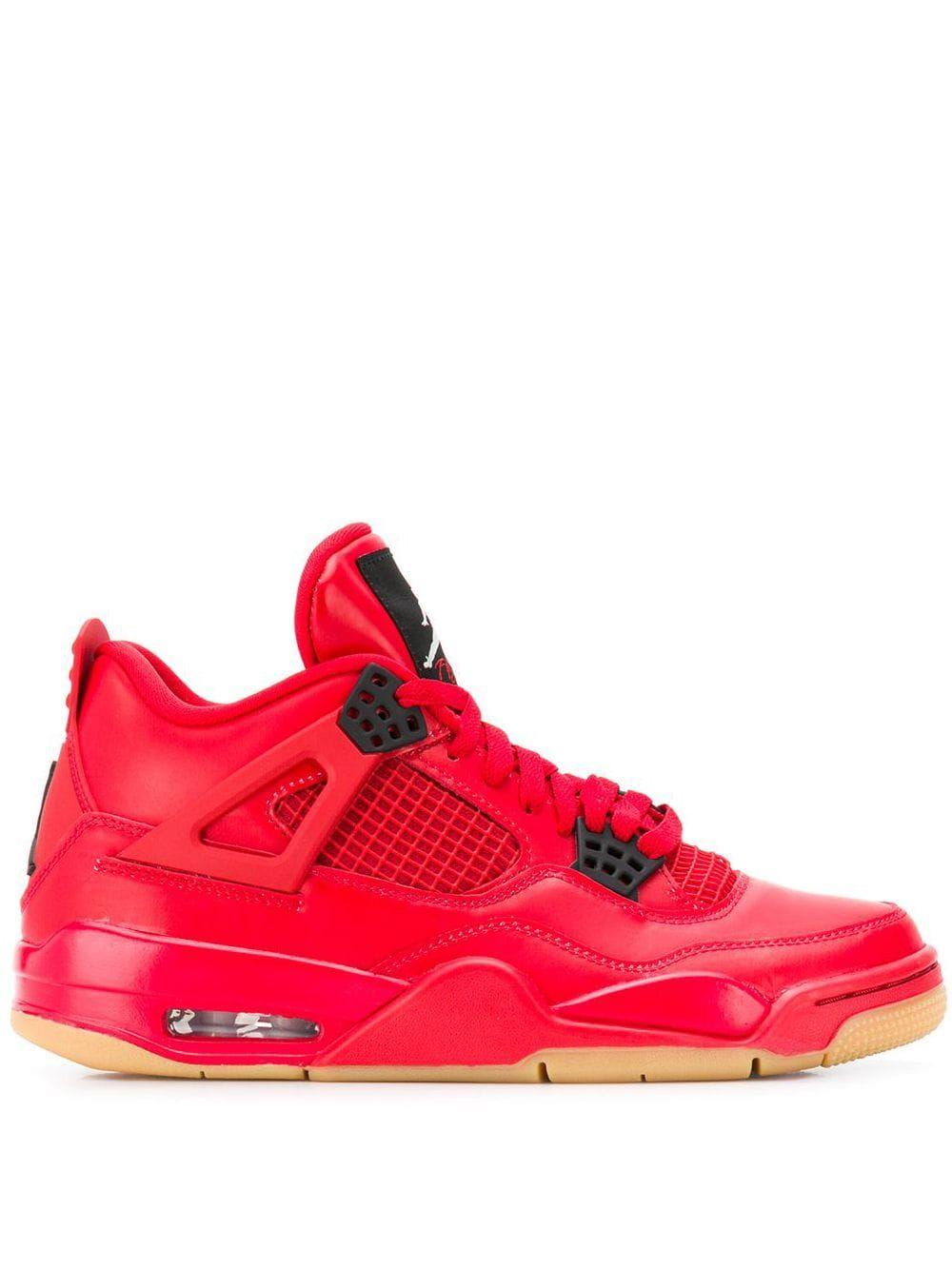 Nike Air Jordan 4 Retro Sneakers Red Retro Sneakers Air