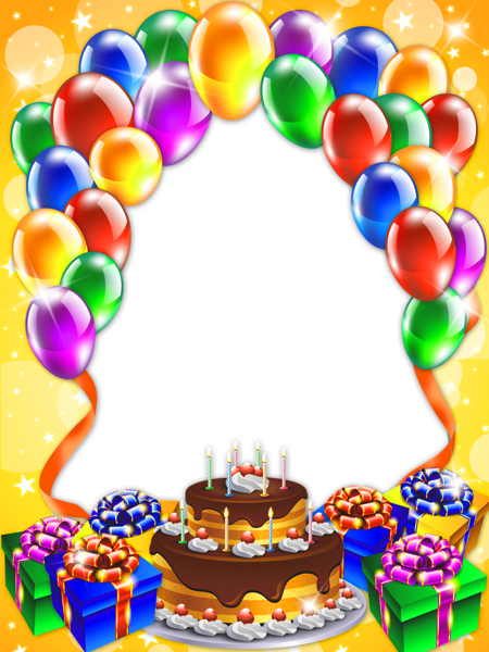 Happy Birthday Transparent Png Frame Frames Borders Happy Birthday Wishes For Wall