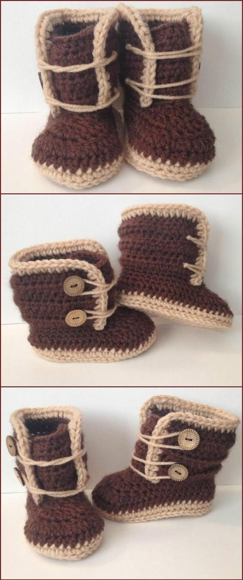 Crochet Baby Booties - Top 40 Free Crochet Patterns | bebe ...