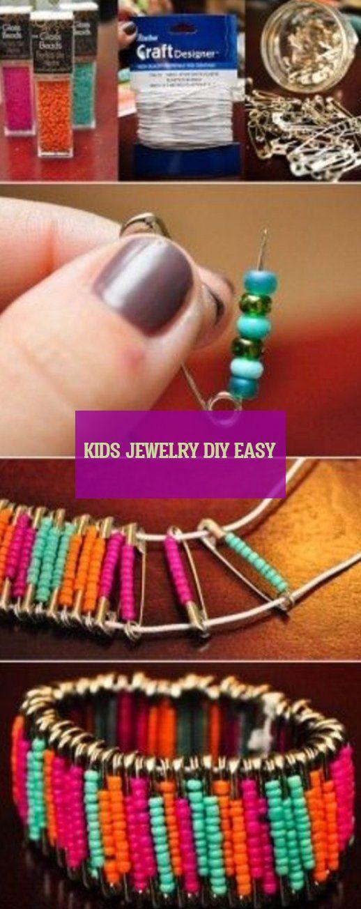 Kids jewelry diy easy
