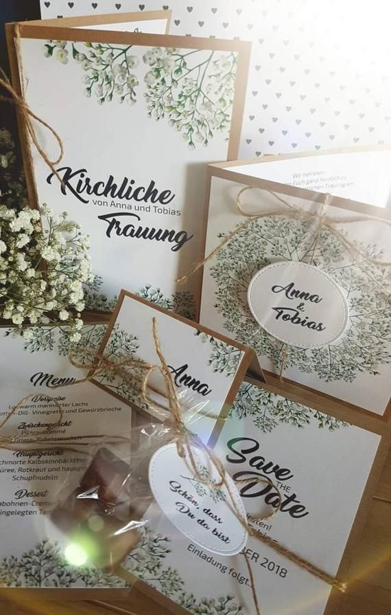 Ahorre las tarjetas de fecha para las invitaciones de boda papel kraft Flores rústicas vintage yute