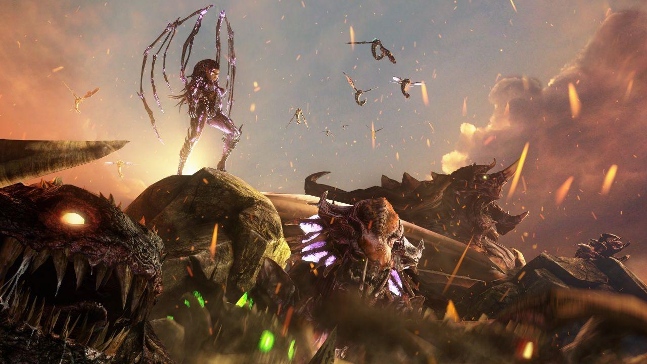 Full HD Wallpaper kerrigan cruel queen of blades claw cave
