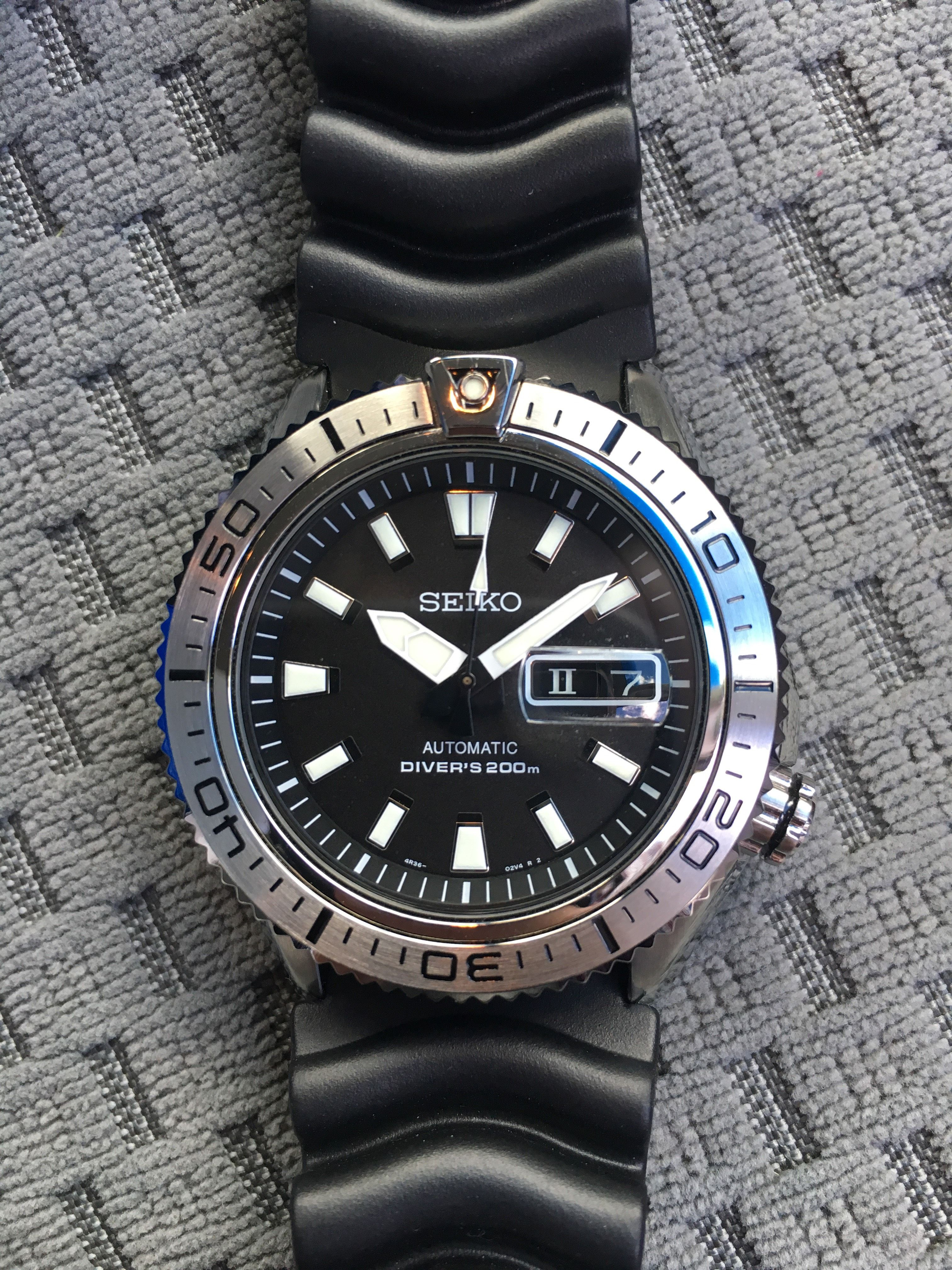 4f767bc5c FS/FT: Seiko Stargate SRP491 (Roman numeral day wheel)   watches ...