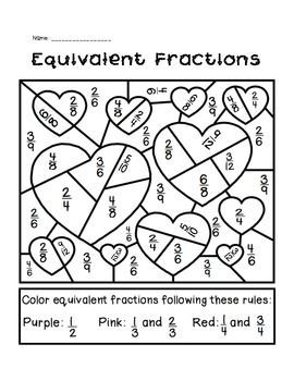 valentines day equivalent fractions activity valentine day games for adults