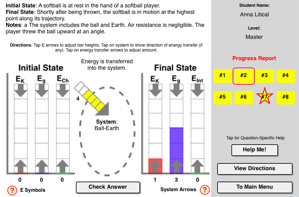 Lol Charts Concept Builder Provides Students With A Rigorous Exercise In Conducting An Energy Analysi Energy Science Lessons Energy Work Work Energy And Power