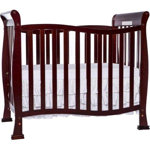 Dream On Me Piper 4 In 1 Convertible Mini Crib Choose Your Finish Mini Crib Cribs Baby Cribs