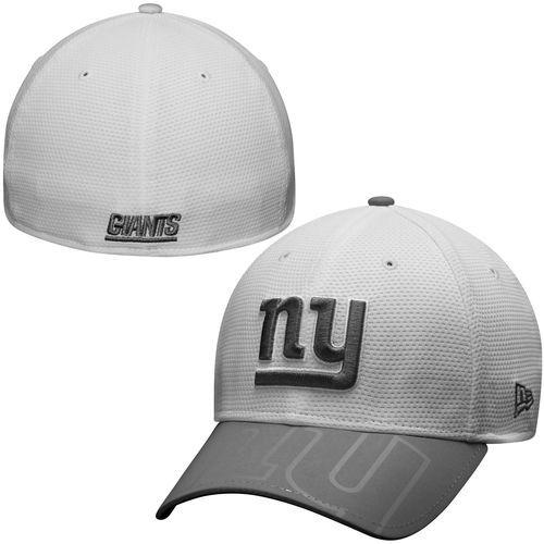 24c9ca26c18 Mens New York Giants New Era White Series Gunner Two-Tone 39THIRTY Flex Hat