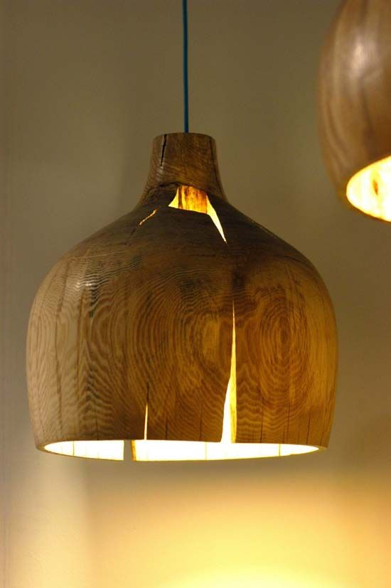 Warm Wood Pendant Actually I Just Want A Lathe To Make My Own