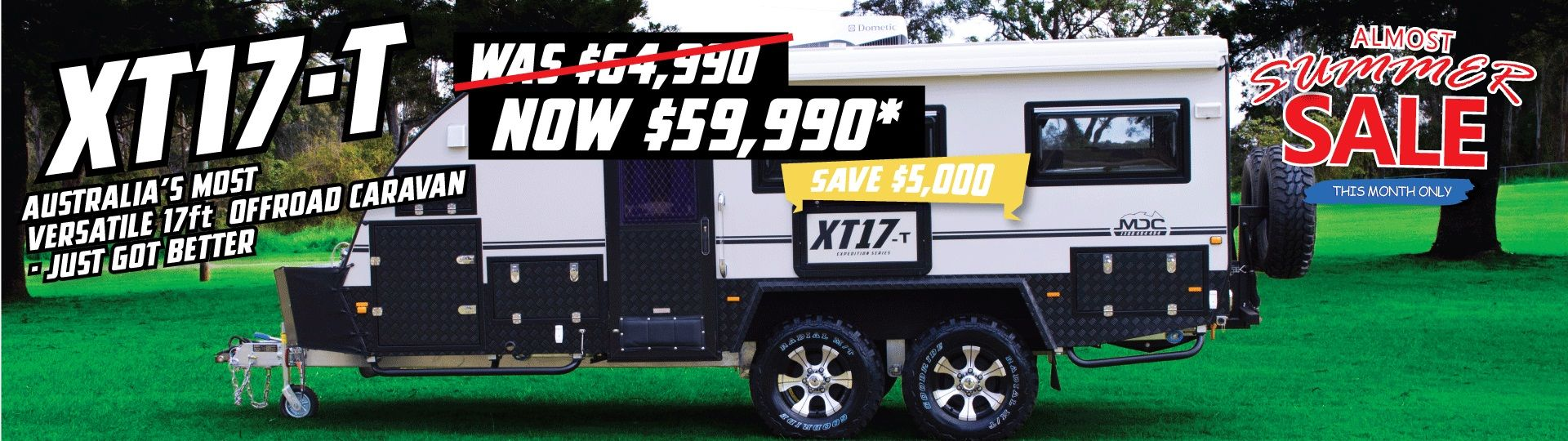 Xt17 t off road caravan mdc camper trailers off road caravans