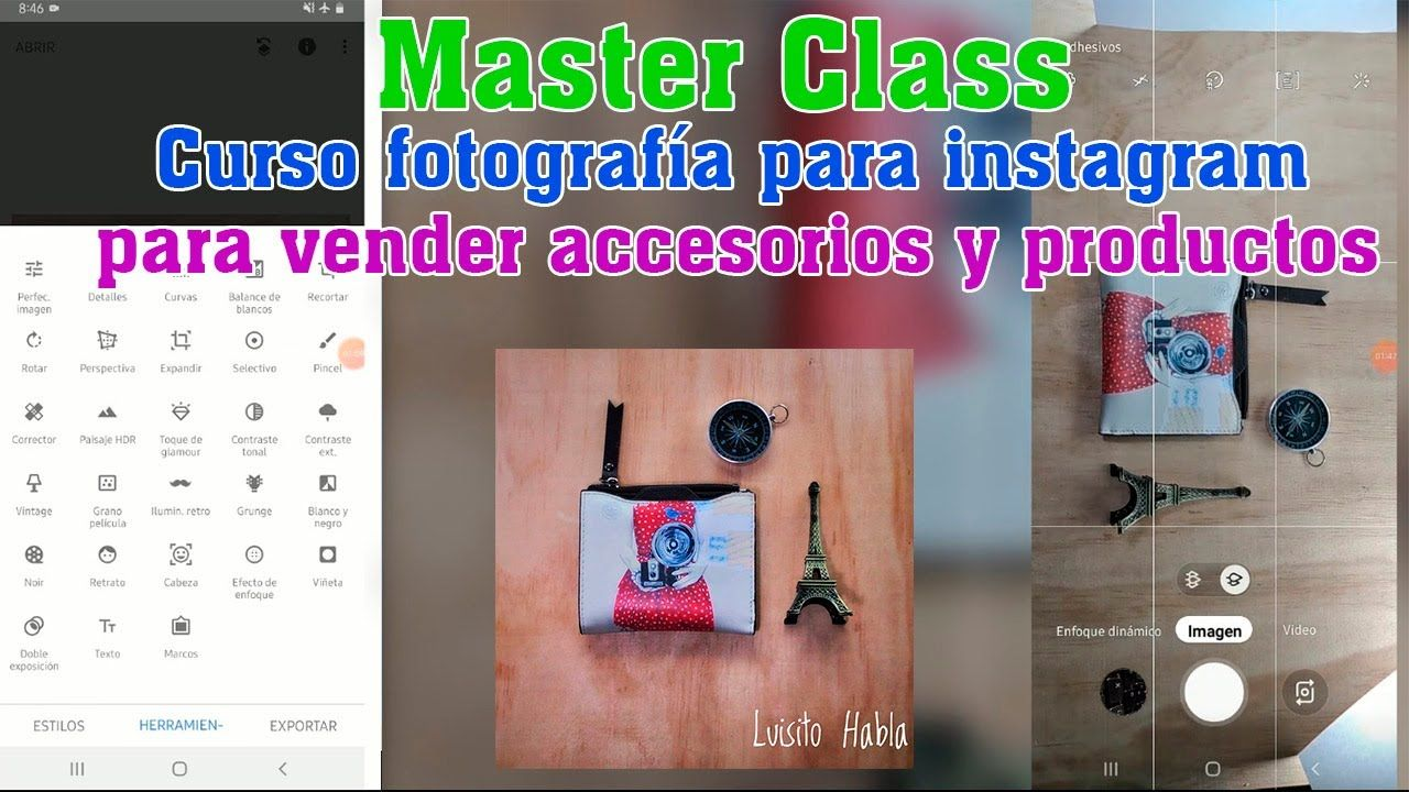 Como Tomar Fotos Para Vender En Instagram Accesorios Productos Bisute Instagram Fotos Cursos De Fotografia