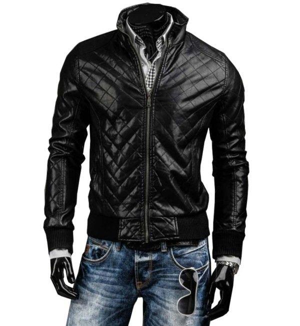 Black Designer Slimfit Leather Jacket Is One Outclassed Design