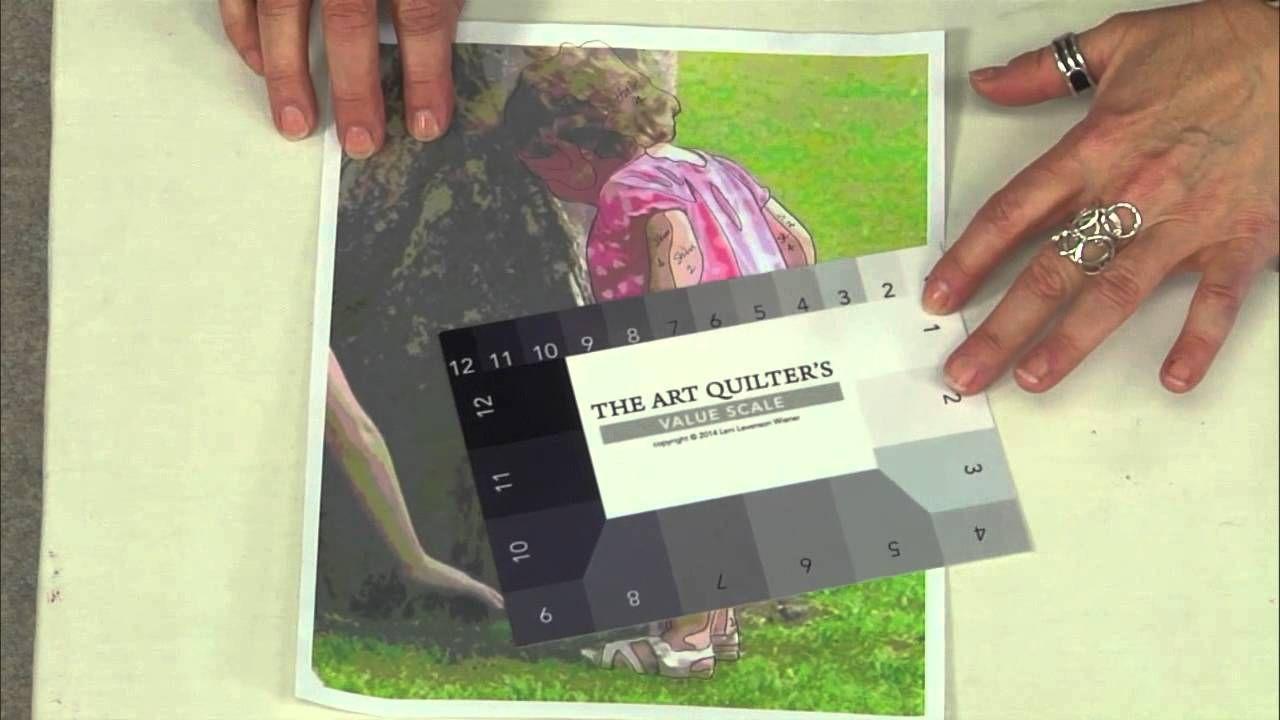 Leni Levenson Wiener's Art Quilter's Value Scale
