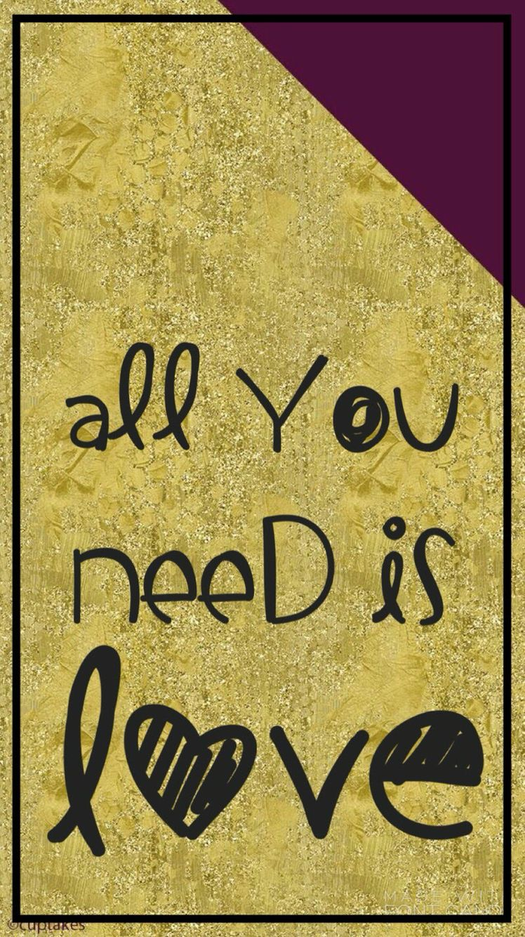 All You Need Is Love The Beatles Matching Wallpaper Lock